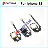 NEW Home Button Flex Ribbon Cable Assembly For iPhone 5S bla...