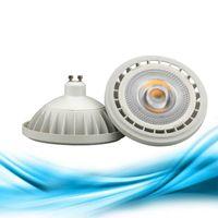 AR111 QR111 ES111 GU10 LED lampada 15W ingresso AC85-265V DC12V riflettore pannocchia luce Fiala G53 bianco caldo / freddo lampadine dimmable bianche