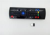 X8 Mini MX3 Teclado Sem Fio Fly Air Mouse Sensores de Sensor Remoto Sensores Giroscópio MIC Combinação MX3-M Para MX3 MX8 M8 M8 M95 S905 STB TV Android CAIXA