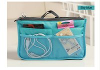 Multifunctional 9 Color high quality cosmetic bag makeup bag...