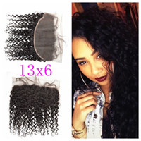 "8- 24"" Deep Wave Full Lace Frontal Mongolian Closure No ..."