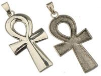 diy ankh croce ciondoli collane gioielli fatti a mano grande singolo religioso antico argento gioielli in lega di metallo componenti 91 * 41mm 20 pz