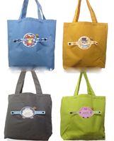 5pcs 2017 симпатичные складные Эко многоразовые сумки