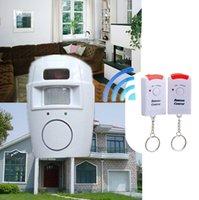 Los sistemas de alarma sensor de infrarrojos IR Detector de seguridad del sistema principal remoto 2 de alarma del sensor de movimiento inalámbrico de control de la seguridad del detector Nueva
