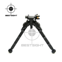 Bestsight Tactical BR-4 Bolt Action Quick Detach Bipod подходит для 20 мм Picatinny Rail для стрелкового прицела Black Tan