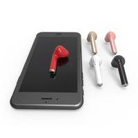 Twins HBQ I7 TWS Wireless 4.2 Cuffie Bluetooth Auricolari Cuffie con  microfono per Apple Iphone Android b5078db35fc7