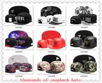Snapback Chapéus Cap Cayler Filhos Snap voltar Bonés de beisebol do futebol Chapéu tamanho Ajustável drop Shipping escolher chapéus de nosso álbum