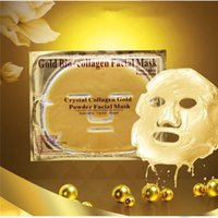 Bio- collagen Gold Face Mask Crystal Mask Skin Care whitening...