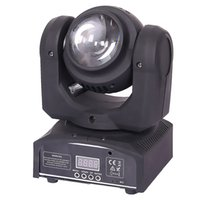 Spot LED 10W / 30W Luce Spot DMX Spot Moving 8/11 Canali 8colori Mini LED Moving Head