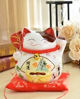 Lucky Cat piggy piggy grands magasins d'ornements en céramique ont ouvert des idées de cadeaux d'anniversaire