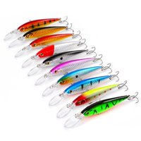 10- color 11cm 10. 5g Minnow Plastic Hard Baits & Lures Fishin...