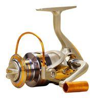 Serie MC Full Metal 10 cuscinetti BB 5,5: 1 Mulinello da pesca con rotella e manico per la linea di pesca