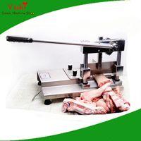 manuelle Fleischknochenschneider Knochen schneiden sah Knochensäge Maschine Verdickung Edelstahl Rippe Schneidemaschine