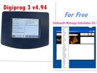شراء Digiprog III V4.94 Digiprog3 عداد المسافات ماستر مبرمج كامل عدة لغات إرسال Tachosoft Mileage Calculator 23.1