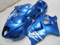 Kit carénage de moto pour Suzuki GSXR1300 96 97 98 99 00 01-07 carénage de carénage bleu set GSXR1300 1996-2007 OT37