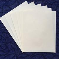 (JQ17200407) papier d'impression 75% coton, 25% lin, sans amidon, avec papier imperméable en fibres rouges et bleu a4 taille, couleur blanche