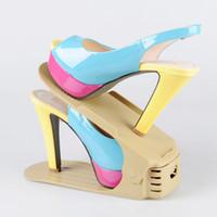 Sapato ajustável 8 cores Keeper Sneaker Organizer Prateleira Stand Home Space Saving