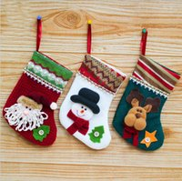 Socks Pendant Christmas Gift Bag Christmas Decoration New Ye...