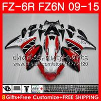 ヤマハFZ6NトップレッドホワイトFZ6 R FZ-6N FZ6R 09 10 11 12 13 14 15 82HM7 FZ-6R FZ 6N FZ 6R 2009年2011年2011年2012年2012年2012年2013年2014年