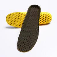 2 pares Avançado Escalada Pad Shoe Esportes Absorção De Choque Favo De Mel Palmilhas de Alta Elástica Massagem Super Respirável Respiração Palmilha