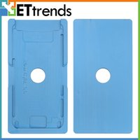 Cadre de haute qualité avec lentille en verre moule pour iphone 6 Plus / 6S Plus pièces de rechange de réparation DHL Livraison gratuite AB0277