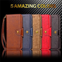 wallet case for S8 Samsung Retro Leather case S7 S7 edge S6 ...