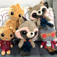 Guardians of the Galaxy Plush Toys 20cm Soft Stuffed Guardia...