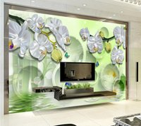 Wholesale- Custom 3d wallpaper for walls 3d photo wallpaper m...