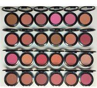 Frete grátis face maquiagem blush shimmer blusher 24 cores diferentes 6g cosméticos profissionais 6 pçs / lote