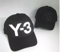 Hot Sale 2017 new Y- 3 Dad Hat Big Bold Embroidered Logo Base...