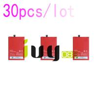 30 adet / grup 3000 mAh Orijinal BLP571 Yedek Li-Polimer Pil Için ONEPLUS 1 + Bir artı 64 GB 16 GB Piller Batteria Batterij