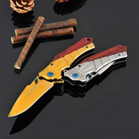 2016 Browning 368 Full Steel Tactical Folding Knife 5CR15Mov...