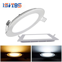 Led Panel Lights Dimmable 9W 12W 15W 18W 21W CREE Led Recess...