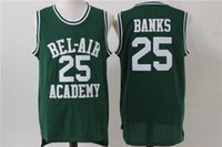 Will Smith 14 The Fresh Prince of Bel Air Academy Camiseta de baloncesto S-XXXL