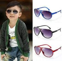 Crianças 'Sunblock Atacado Moda crianças óculos de sol óculos de proteção UV óculos de bebê meninos e meninas 2017 Estilo