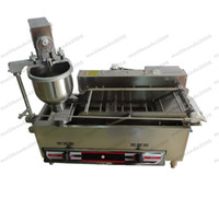 NEW Better Taste Full Automatic Gas Mini Donut Maker 110 220V Quality 3 Moulds Donut Making Machine 1200 PCS H With CE Proof MYY