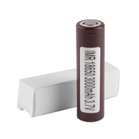 HG2 Battery 3000mAh 20A 3. 6V Discharge 18650 Battery Brown C...