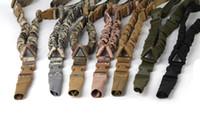1000D التكتيكية نقطة واحدة حبال قابل للتعديل بنجي بندقية بندقية حبال الشريط التكتيكية نقطة واحدة حبال بندقية