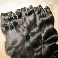 Promosyon saç ürünleri ucuz işlenmiş% 100% İnsan saç vücut dalga Brezilyalı uzatma atkı 9 demetleri / lot Hızlı kargo