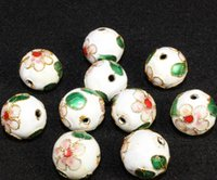 14mm Cloisonne Enamel Beads 다채로운 선조체 DIY 쥬얼리 팔찌 공예품에 대 한 정품 라운드 느슨한 스페이서 구슬 Chloe Cloisonne Beads