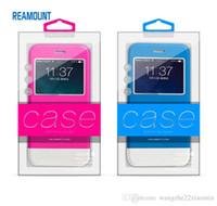 200pcs 아이폰 6에 대 한 내부 쟁반 새로운 도착 맞춤형 지우기 상자 6plus 아이폰 7 플라스틱 PVC 다채로운 포장 상자 패션 포장 케이스