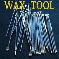 أحدث أدوات الشمع الجاف عشب dab أداة المقاوم للصدأ dabber أداة الأنا الشمع أداة أفضل earpick