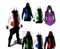 Assassins' s Creed 3 Anime Game Connor Red Black 9 Color...