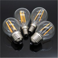 4W Dimmable Edison Style Antique LED Filament Globe Light Bu...