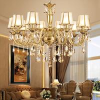 Araña de cristal de estilo del norte de Europa llevó luces colgantes sala de estar comedor dormitorio estudio estudio nórdico lámparas de iluminación del jardín