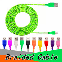 Braided Micro USB Cable Type C Cable 1M 2M 3M for Android Hi...