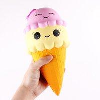 Venta caliente de Kawaii Squishy grandes Squishies helado lento aumento de Squishies teléfono Squishies lindo Jumbo Fidget Juguetes encantos regalo del teléfono