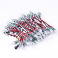 500 pçs / lote 12mm Única Cor LED Módulo Pixel Led Pixel luz da corda Sem IC DC 5 V para o feriado do Natal