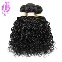 Top Quality Uprocessed Brazilian Water Wave virgin hair 3 Bu...