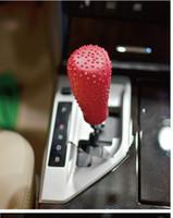 Auto Car Ovel en forma de silicona Gear Shift Knob cubierta Manual automático antideslizante palanca Shifter perillas caso Protector Stick Jarket